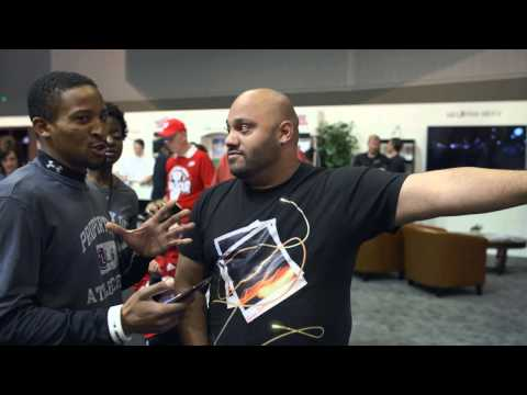 LG Flick It Challenge with G Flex 2 [2015 NCAA Final Four]