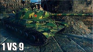 СТАТИСТ ПОТРАПИВ У БІЙ МРІЇ   1 проти 9   World of Tanks кращий бій на тт WZ-111 преміумний