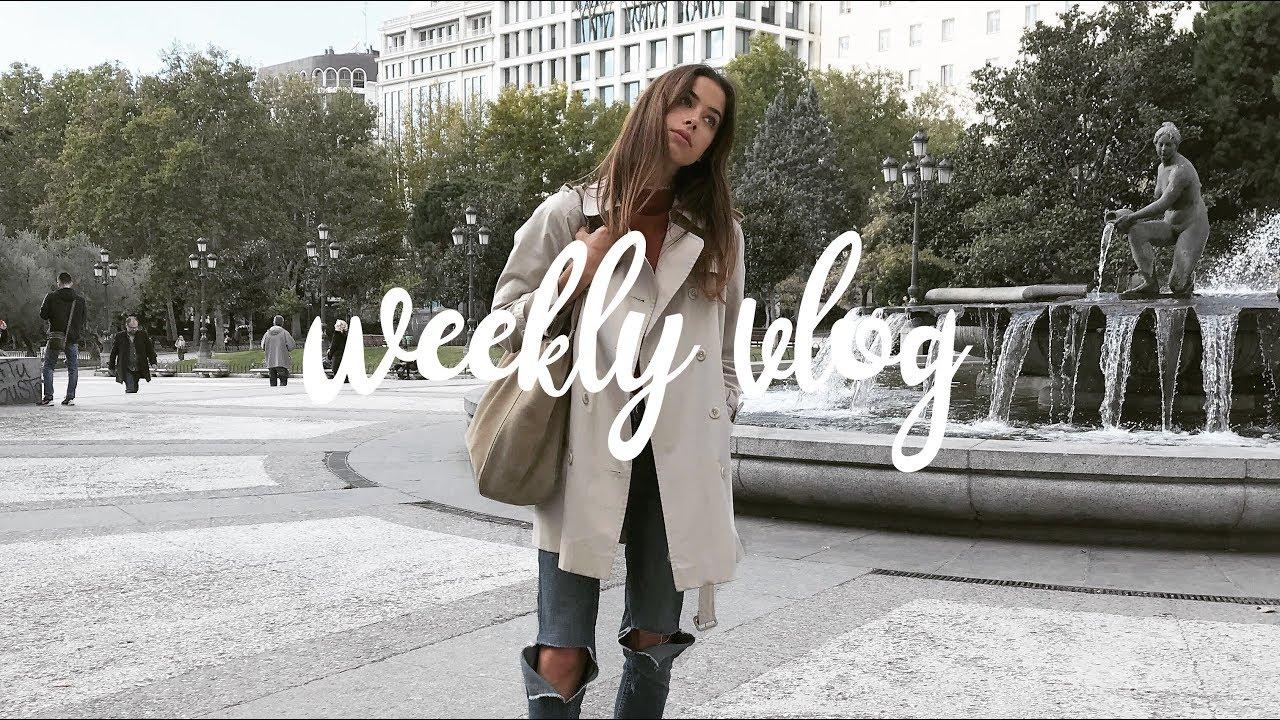 Moi rodzice w Madrycie / Weekly Vlog