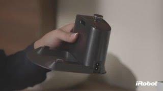 как установить зарядную базу Roomba?