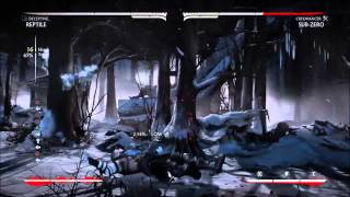 MKX Reptile (Deceptive) (44% & 45%)Two New Combos Last Patch