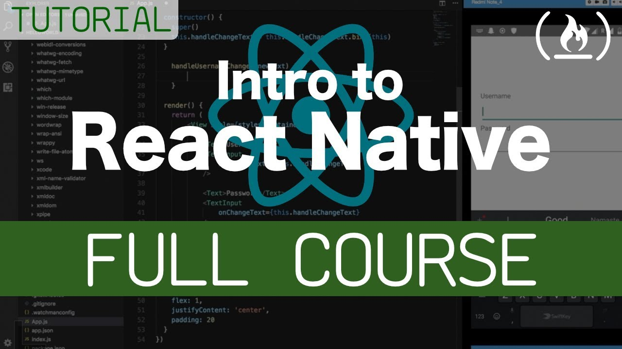 React Native - Free Courses & Tutorials to Learn React