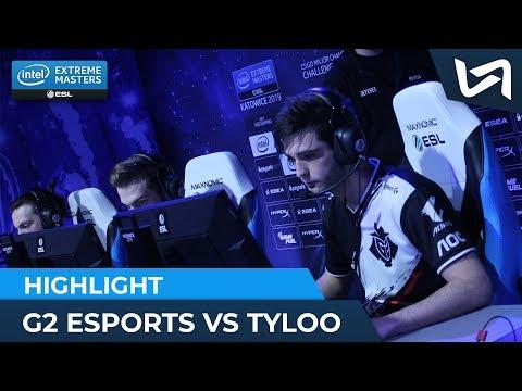 G2 Esports vs TYLOO - Ambiance côté français & Réactions de JaCkz et maLeK- IEM Katowice Major 2019