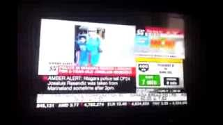 CP24: AMBER ALERT issued for abducted child in Niagara Falls, Ontario, Canada