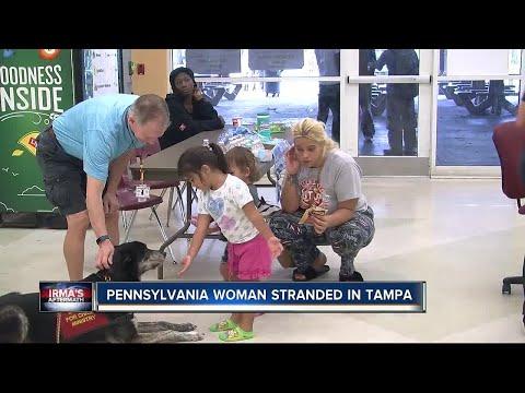 Pennsylvania woman stranded in Tampa