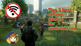 Top 5 best offline games for android/ios||Dij B Gaming