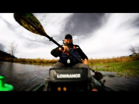 Kayak Bass Fishing Toad Trip #1 - GEORGIA BUCKETMOUTHS