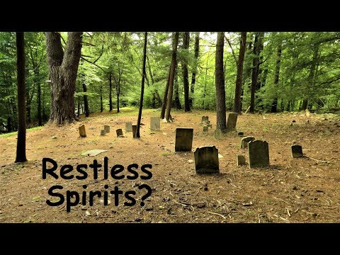 Haunted Abandoned Cemetery ~ Victims Of Tragic Flood