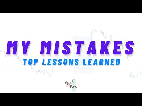 Top LESSONS Learned From LOSSES in FOREX   Don't MAKE These Mistakes   Psych FX