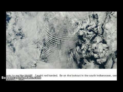 Busted ! Proof of Weather Modification ! Satellite Imaging Shows Coil over Prince Edward Islands !
