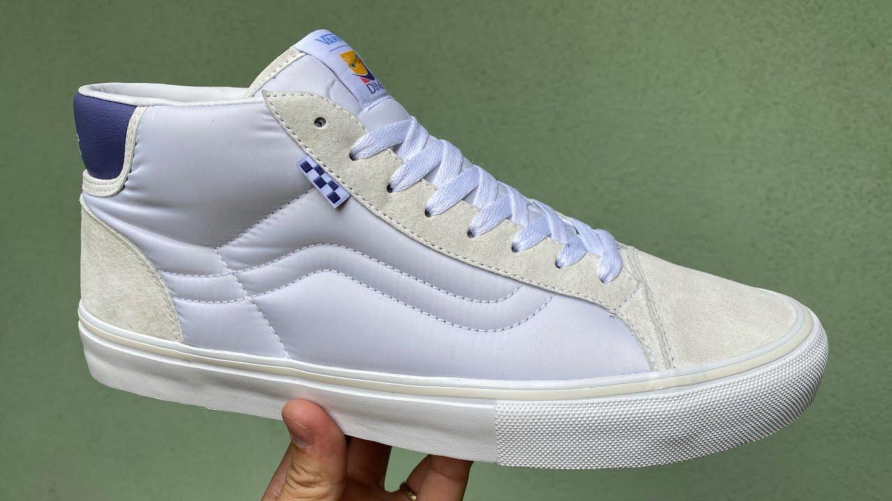 Vans Review: Vans x Dime Skate Mid Skool LTD (Off White)