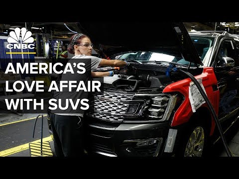 Why America Is Falling Back In Love With SUVs