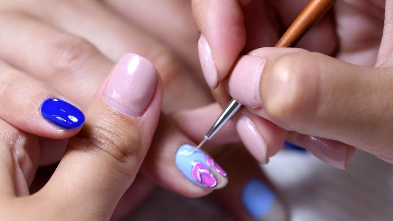 Manichiură De Vară Pictură Pe Unghii Cu Tematică Nails By Cupio