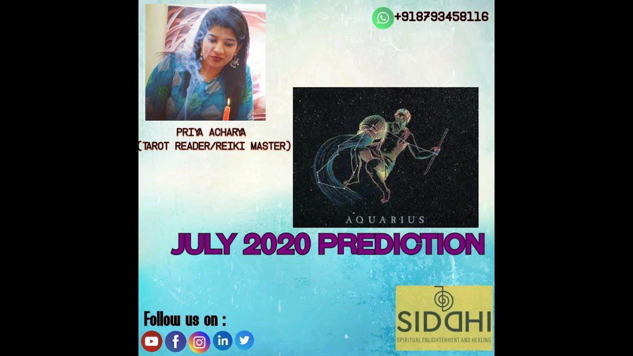 Tarot Reading Aquarius / Kumbh Rashi  July 2020 Sign Monthly Tarot Reading Hindi