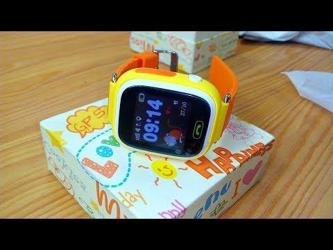 Детский ТЕЛЕФОН-GPS-ЧАСЫ — Q90