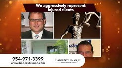 Personal Injury Lawyer Margate FL - Bader Stillman, PL