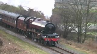 6201 'Princess Elizabeth' puts on a show at the East Lancashire Railway Thumbnail