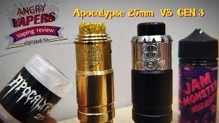 apocalypse 25mm VS GEN 3 RDA Mechlyfe  Что Выбрать?