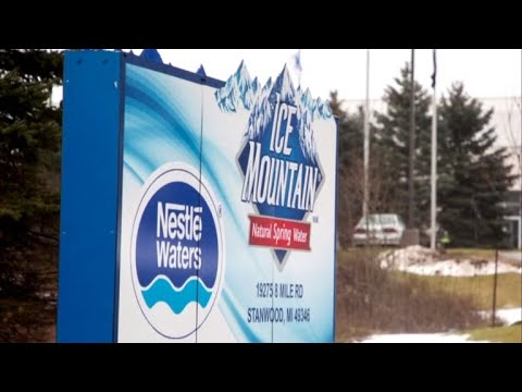 Michigan lawmakers under fire over Nestlé water bottling plan