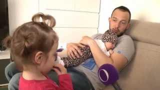 Zlatko predstavil hčerko Aino