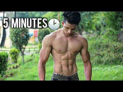 no gym full six pack abs workout at home  youtube
