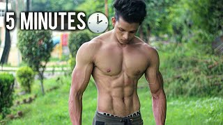 No Gym Full Six Pack Abs Workout at Home