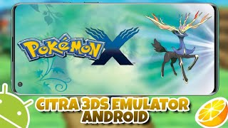 Pokémon X | Citra Emulator Android (MMJ) 2019 | Setting + Link Download