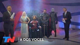 """""""La pelea por el trono""""   A DOS VOCES"""