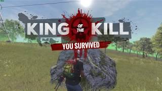 H1Z1 KotK Hunting Rifle Hip fire Kill for the Win