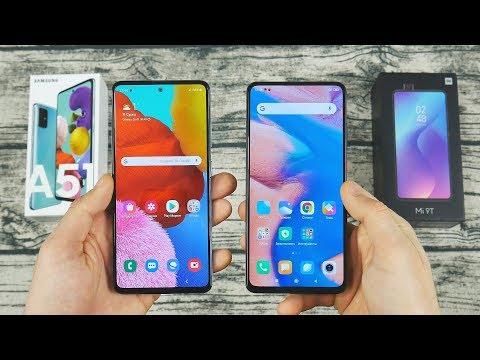 Samsung Galaxy A51 или Xiaomi Mi9T - ПОДРОБНОЕ СРАВНЕНИЕ!