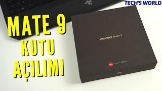 Huawei Mate 9 Kutu Açılımı