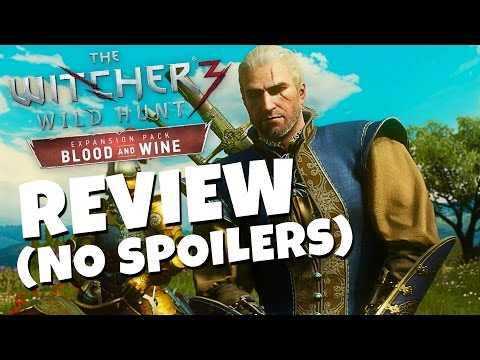 The Witcher 3 Blood and Wine Expansion REVIEW (No Spoilers)