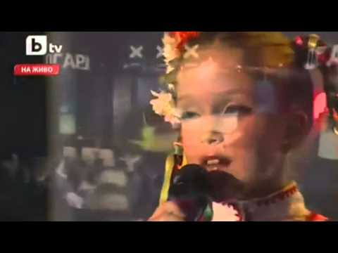 Bulgarian Folklore Music - Maria - 9-year old girlie-singer