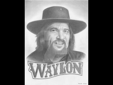 Waylon Jennings - Rose In Paradise (Lyrics on screen)