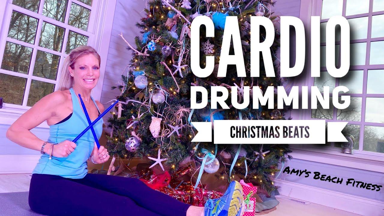 Cardio Drumming - Christmas Beats - 20 Min Cardio, 10 Min Core