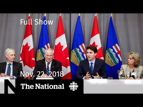 The National  for Thursday, November 22, 2018 — Calgary Protests, Foster Abuse, School Resignations