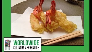Fundamentals Of Japanese Cuisine - Shrimp Tempura For Inside Out Sushi Roll