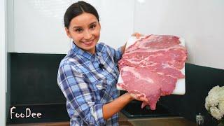 Мясо ПО-КОРОЛЕВСКИ – Мягкое, сочное МЯСО на праздничный стол, запеченное в духовке