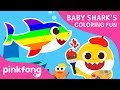 Baby Shark's Coloring Fun | Baby Shark Coloring Book | Toy Show | Pinkfong Toy Show for Children Mp3