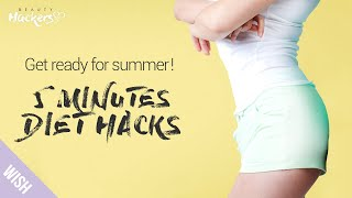 5 Five Minutes Weight Loss Hacks That Actually Work For the Busy People | Beauty HACKers