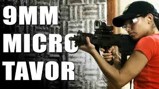 9mm x95 tavor and the recover tactical grip rail for 1911