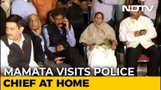Mamata Banerjee On 'Dharna' After Kolkata Police-CBI Clash