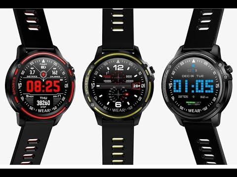 Microwear L8 Smart Watch ECG+PPG Смарт-часы мужские