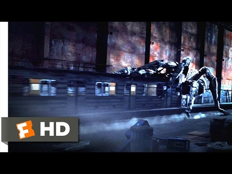 Spiders 3D (12/12) Movie CLIP - Death by Subway Train (2013) HD