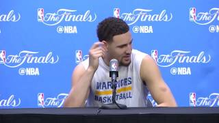 """Klay Thompson: """"LeBron James is a bitch for snitching on Draymond"""""""