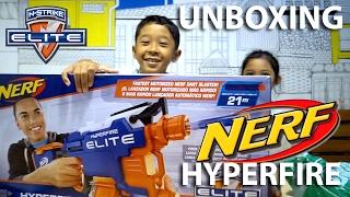 Keren! Nerf Elite Hyperfire!! (UNBOXING)
