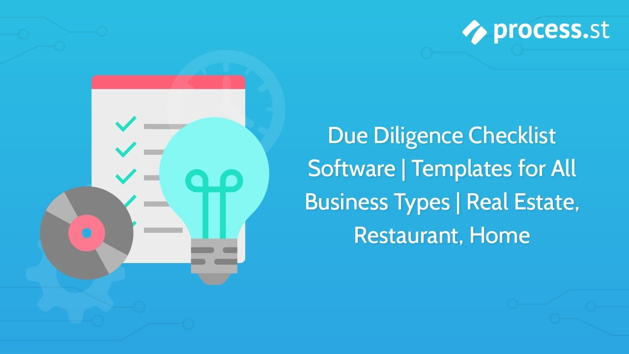 Due Diligence Checklist Software Templates for All