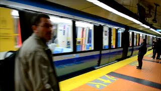 NEW MONTREAL AZUR METRO BEING TESTED ON ORANGE LINE 2