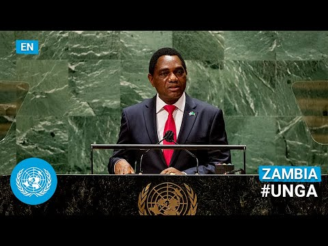Download 🇿🇲 Zambia - President Addresses United Nations General Debate, 76th Session (English) | #UNGA
