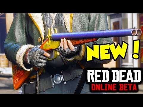The New DLC Weapons in Red Dead Online... (Red Dead Redemption 2 Online DLC Weapons) thumbnail